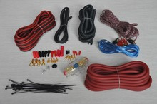 AMP WIRING KIT 8GA professional Car Amplifier Wiring Kits 8GA Car Audio Cable