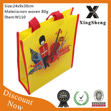 New eco-friendly fashion Best sale low price beautiful Custom reusable hot sale stock shopping bag