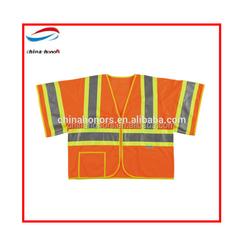 popular Hi-vis reflective rain jacket motorcycle reflective vest