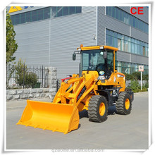 Chinese brand Aolite hot sale new condistion 1.2-1.5 ton front end CE certificated small wheel loader
