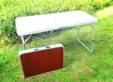 foldable table aluminum folding table for camping