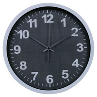 30cm plastic wall clock models for home and office with ce