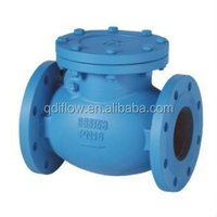 Non return water valves with flange connection