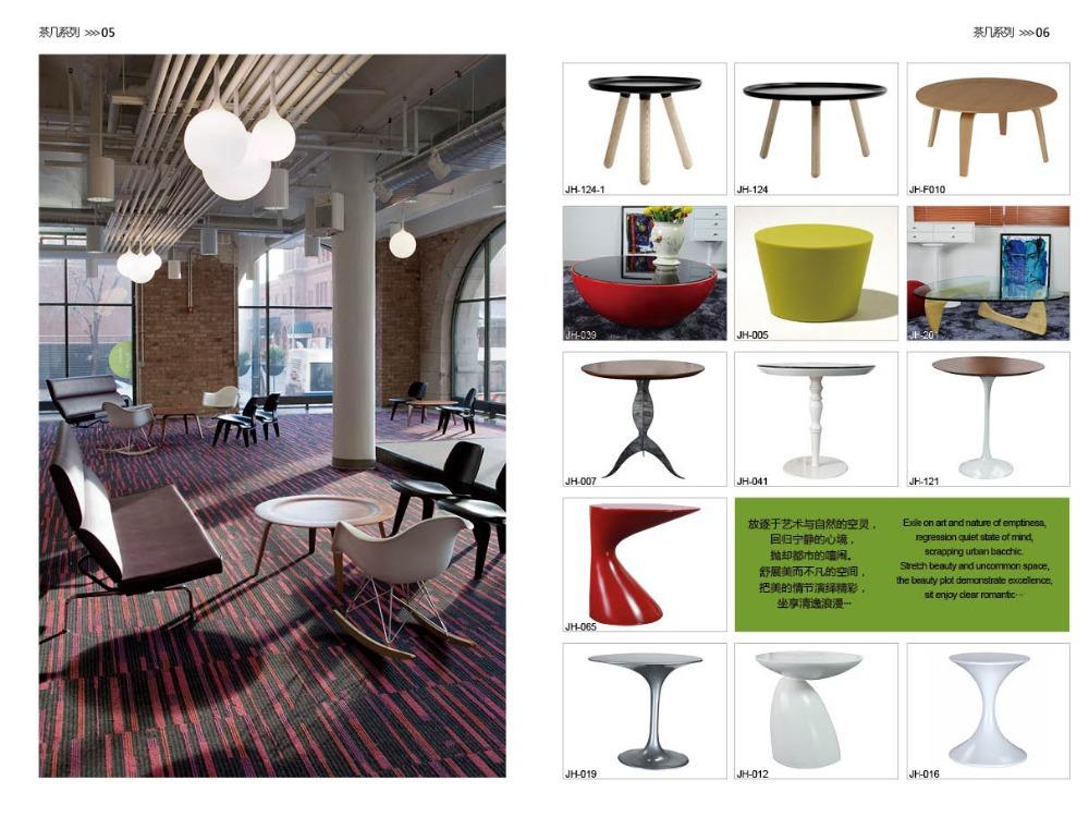 JH-001 현대적인 식당 가구 dsign 커피 잔 의자/ 유리 섬유 컵 모양의 ...