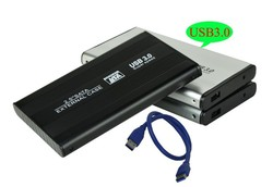 2.5 inch SATA Aluminum HDD Case 2.5 inch USB 3.0 SSD enclosure