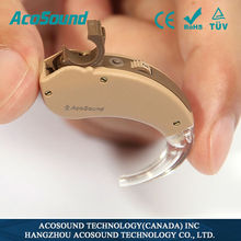 AcoSound Acomate 210 BTE helping deafness hearing aid manufacturer