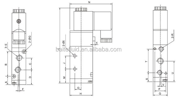 hydraulic solenoid valve 12 volt bosch solenoid valve 3