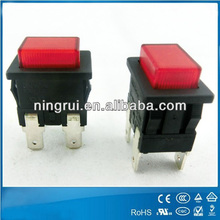 2014 PA66 electrical push button switches illuminated and latched