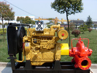 High quality 100 hp diesel engine fire fighting pump used