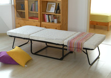 Top quality living room folding steel bed