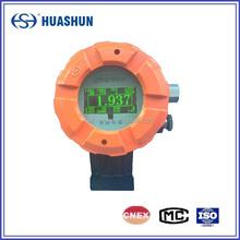 Externally ultrasonic liquid level meter apply for liquid chlorine tank