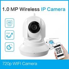 Popular wireless ip camera with NVR kits 720p ip camera motion detection alarm ip camera