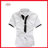 Women blank custom school uniform necktie formal shirts for factory
