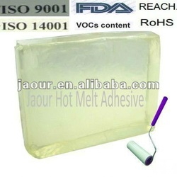 hot melt adhesive (block shape)for self adhesive cleaning tape