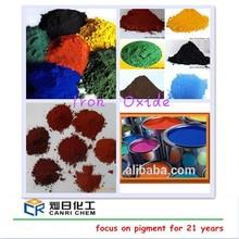 pigment iron oxide sale for concrete and asphalt