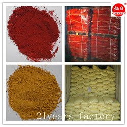 Iron oxide type/fine powder red color and yellow black brown pigment for paver