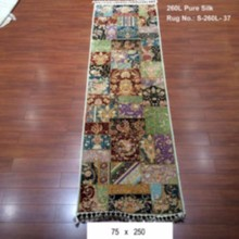 western style handmade pure silk arts and crafts hallway contemporary area rugs runner