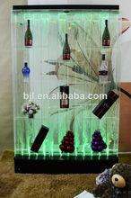 dacing de agua de la burbuja de partición de vino del gabinete de antigüedades de la cascada de muebles