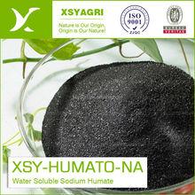 100% Solobility Sodium Humate Flake with High Humic Acid Organic Fertilizer