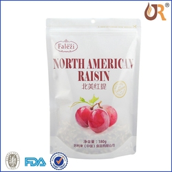 Custom Printed Pet Food / Dried Snack / Vacuum Frozen Food Packaging Plastic Aluminum Foil Ziplock