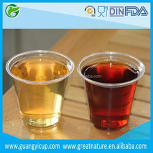 Wholesale 5oz Clear Plastic Cups for Beverage