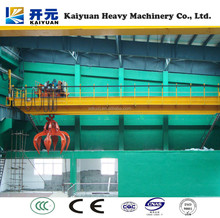 Hi ! If needing a high quality eot crane with grab ,please contact us, we will offer our best service