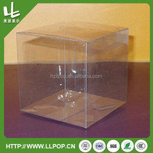 PVC/PET/PP Packing Box for Cosmetics Bottle Packing
