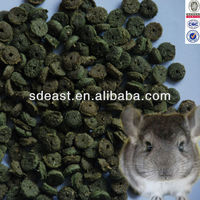 Extruded rodent food