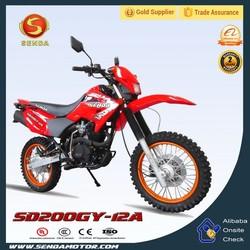 China Apollo ORION Gas Mini Bike 2000cc for Adult Dirt Bike HyperBiz SD200GY-12A
