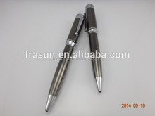 2015 good quality promotional metal ball pen, metal pen pocket clips