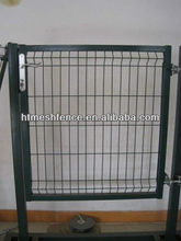 RAL6005 welded wire mesh panel fencing gate 50*200mm mesh direct factory