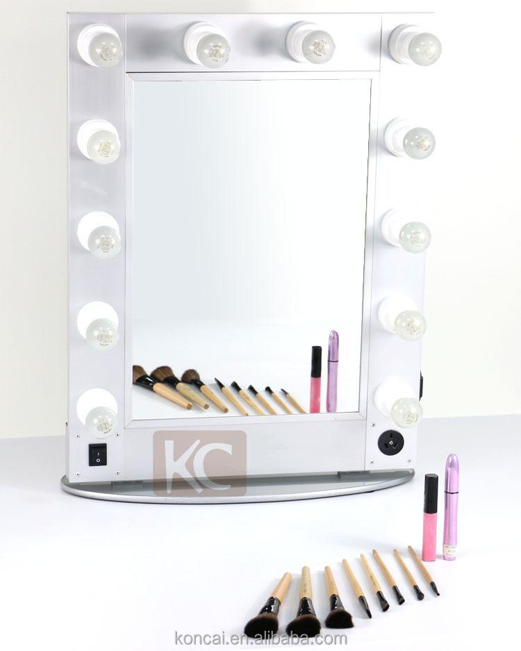 Beauty aluminum hair salon mirror station decorative led for Beauty salon mirrors with lights