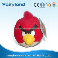 2015 hot selling custom minion plush bird toy for adult and baby