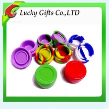 Food Grade Non-stick Customized Silicone Jars Dab Wax Container