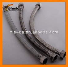 Stainless Steel braid metal pipe,water faucet connector
