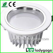 Hot Selling! Die-casting Aluminium, White Housing, COB one piece Chip, 20w cob led downlight white warm white