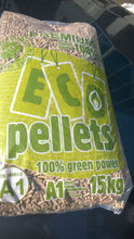 Wood Pellets 100% Beech with Light Color