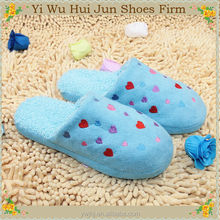 Hotel Cotton Slippers With Antiskid Sole Indoor Slipper(HJCW227)