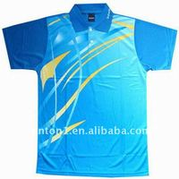Professional Sublimation Table Tennis Jersey