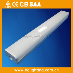 ETL listed office/home/shopping mall used led light, 20w led batten light