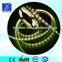 6-7lm/led 12v white 2 years warranty highlightness silicon tube 3528 led strip