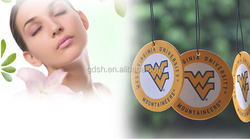 customized car hanging fragrance air freshener for hotel