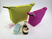 cheap&high quanlity neoprene cosmetic bag for promotion gift