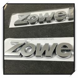 2015 Car sticker car logos with customer names emblem