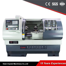 Horizontal functions of metal bench cnc lathe machine CK6136A-2