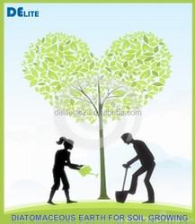 New Design DElite Ehance Nutrient and mositure Diatomaceous Earth Organic Soil Amendment