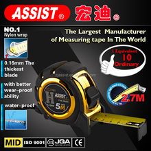 3m 5m 7.5m fit hands comfortably nylon wrap magnetic measuring tape