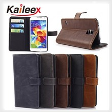 new products 2015 innovative product wallet leather case for samsung galaxy s5 active leather case