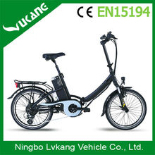 Foldable Lithium Battery E Road Electric Bike