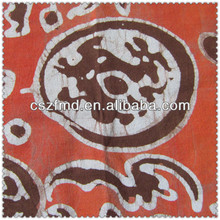 100% linen oriental printing upholstery fabric